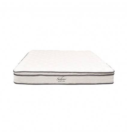 Silver Pocket Spring Mattress with Pillow Top